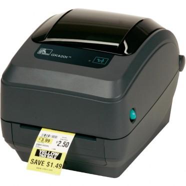 Zebra GK420t TT 203 dpi - Imprimante de bureau - Parallèle