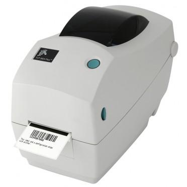 Zebra TLP2824 Plus TT 203 dpi - Imprimante de bureau - RS-232, Prédécollage